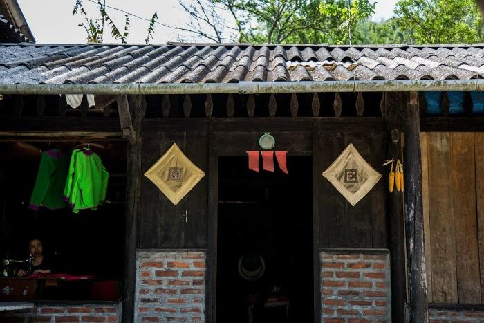 Sapa-Bản người Mông đỏ ở Lao Chải, Sa Pa