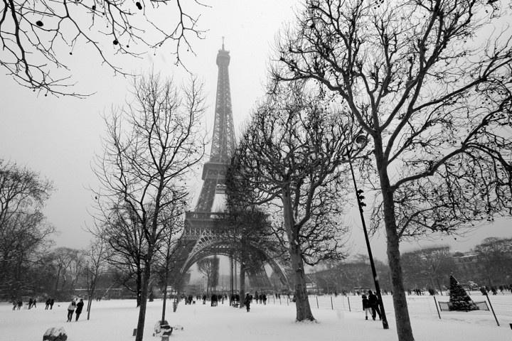 Mùa đông nước Pháp