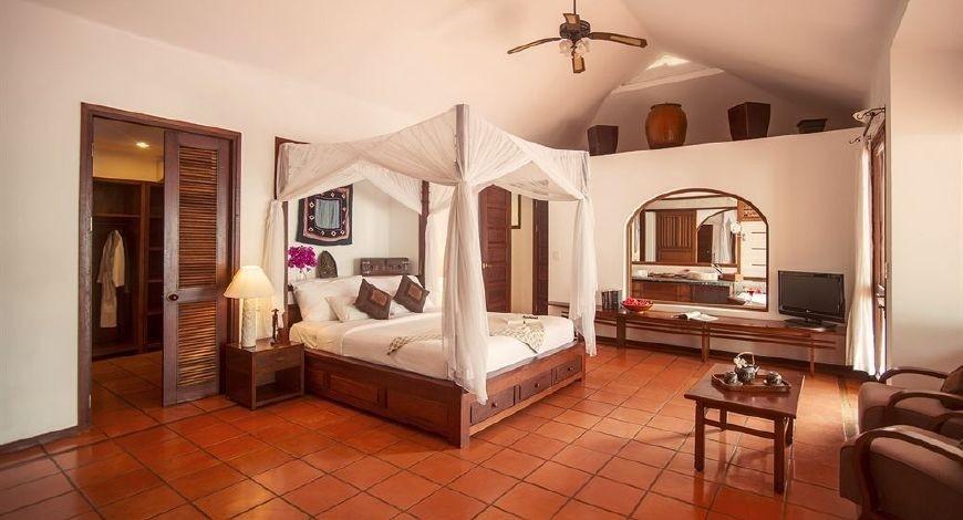 Mỗi căn phòng đều cho du khách cảm giác ấm áp, tiện nghi và sang trọng