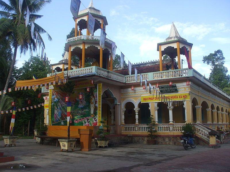 Chùa Giồng Thành (Long Hương Tự) An Giang