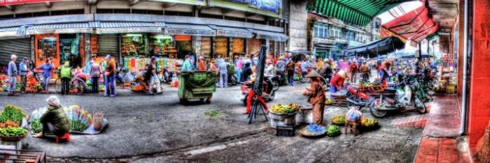 Đà Nẵng-Bên hông chợ Hàn