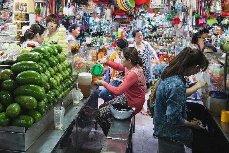Đà Nẵng-Thiên đường ăn vặt bên trong chợ Cồn
