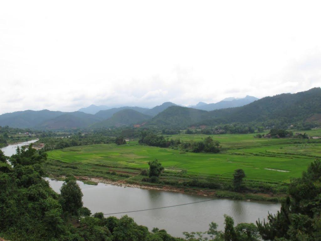 Phong cảnh mờ ảo, bình yên ở xã Đồng Văn, huyện Bình Liêu