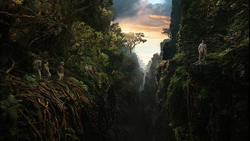 Phối cảnh trong Kong: Skull Island