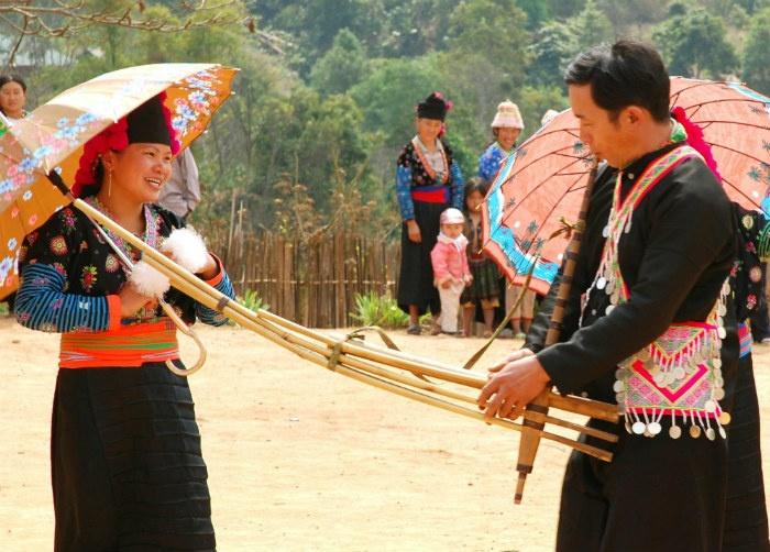 Lễ hội khèn Mông ở Hà Giang