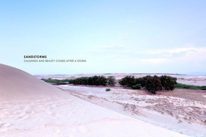 Mơ màng cùng đồi cát ở Paoay