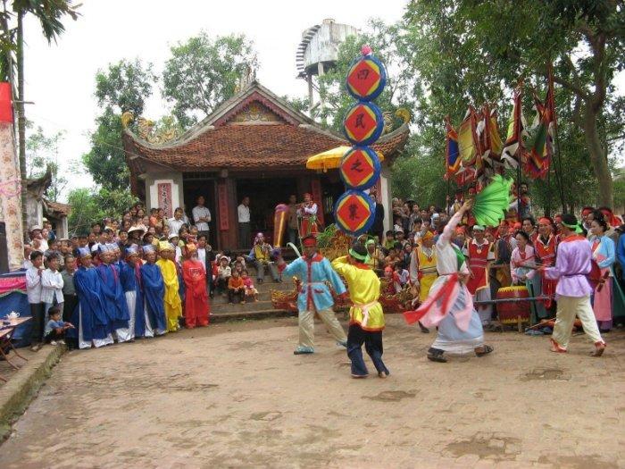 Các lễ hội là điểm du lịch văn hóa đặc sắc ở Phú Thọ