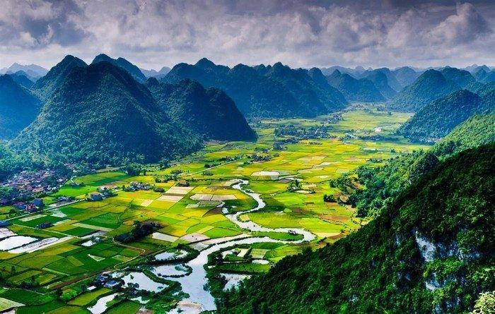 Thung lũng Bắc Sơn cách Hà Nội chừng 160km