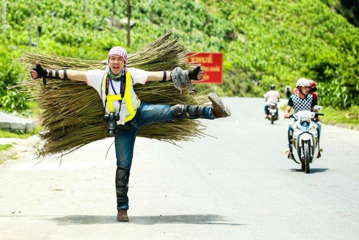 Phượt thủ nổi tiếng Trần Hải An (biệt danh Quỷ Cốc Tử)