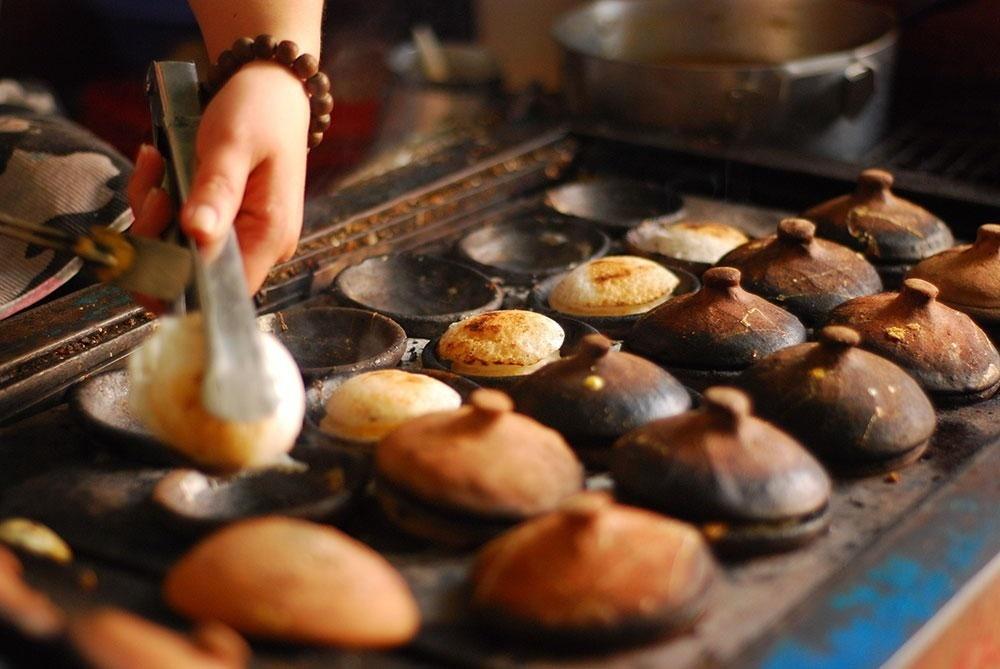 >Đặc sản bánh căn ngon nổi tiếng phố hoa Đà Lạt