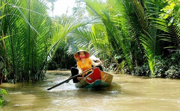 Bóng dừa in sâu vào tâm thức người dân và khách du lịch Bến Tre