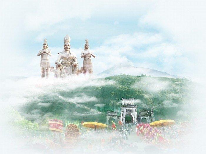 Giỗ Tổ Hùng Vương và 30/4 - 1/5 này hãy về với cội nguồn Phú thọ tham gia vào lễ hội đền Hùng đặc sắc