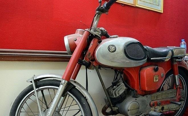 Chiếc xe gắn máy các chiến sĩ đã sử dụng trong ngày tiến vào Dinh Độc Lập