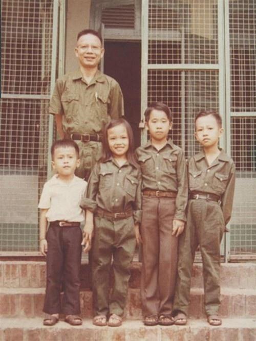 Ông Năm Lai - chủ nhân căn nhà và ngày đoàn tụ cùng gia đình sau giải phóng