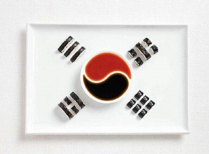 Lá cờ Hàn Quốc