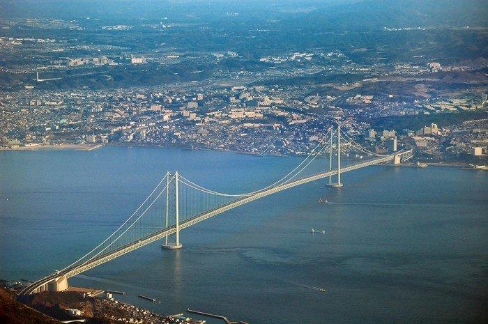 Cây cầu treo dài nhất thế giới