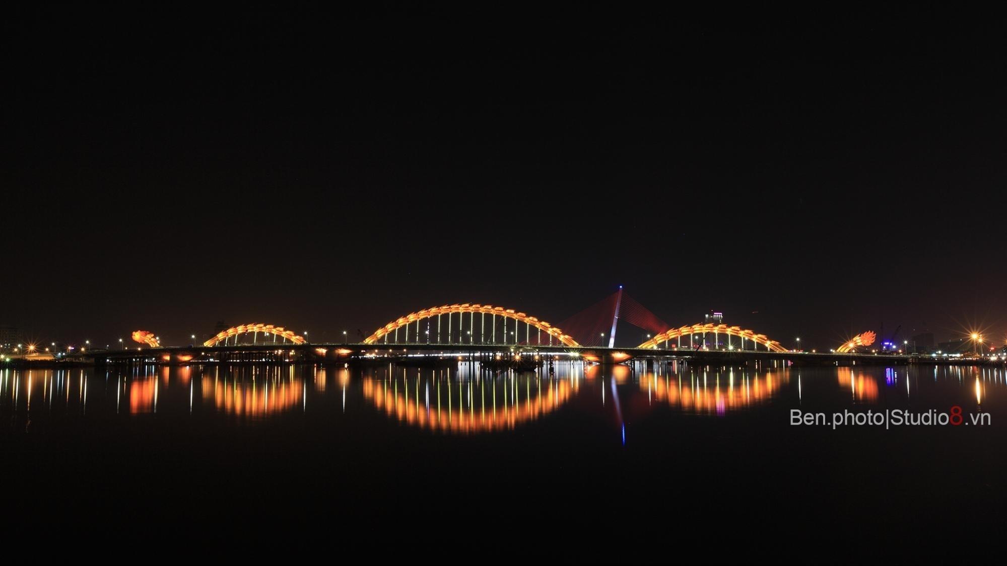 Cầu Rồng  cây cầu độc đáo thuộc về riêng Đà Nẵng