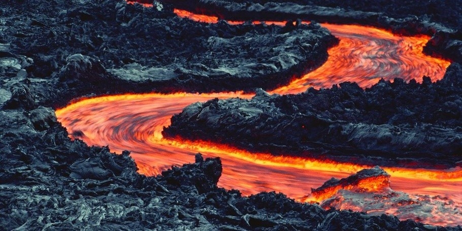 Dòng nham thạch Kilauea đáng sợ