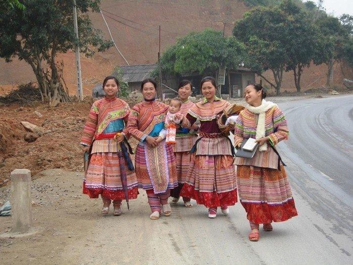 bản làng HMông