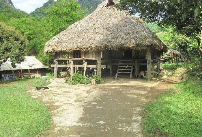 Nhà được xây theo mô phỏng hình con rùa