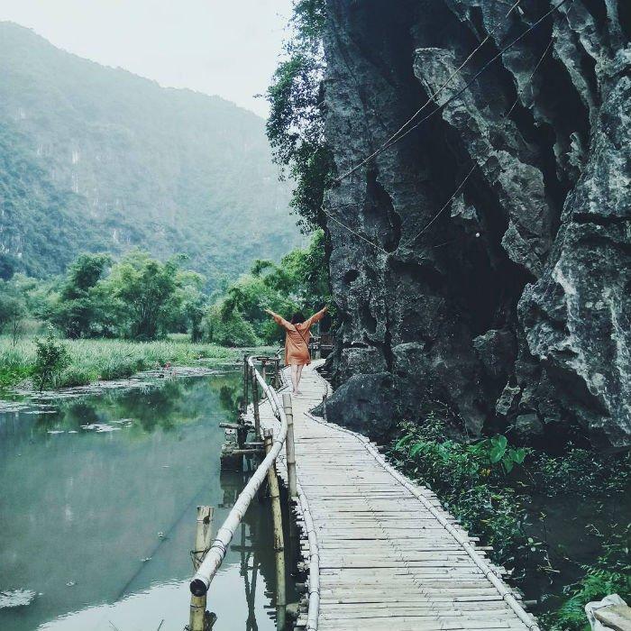 Hòa mình cùng thiên nhiên - Ảnh: @supadubakiddo