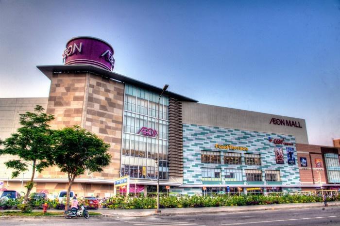 Khu trung tâm thương mại Aeon Mall hiện đại giữa lòng Sài Thành