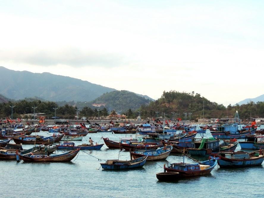 du khách du lịch Nha Trang
