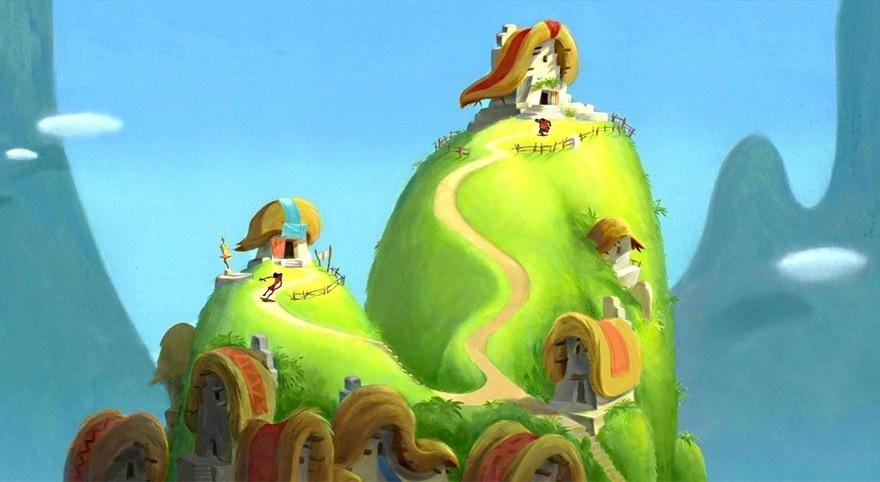 Hình ảnh trong bộ phim Hoàng đế lạc đà