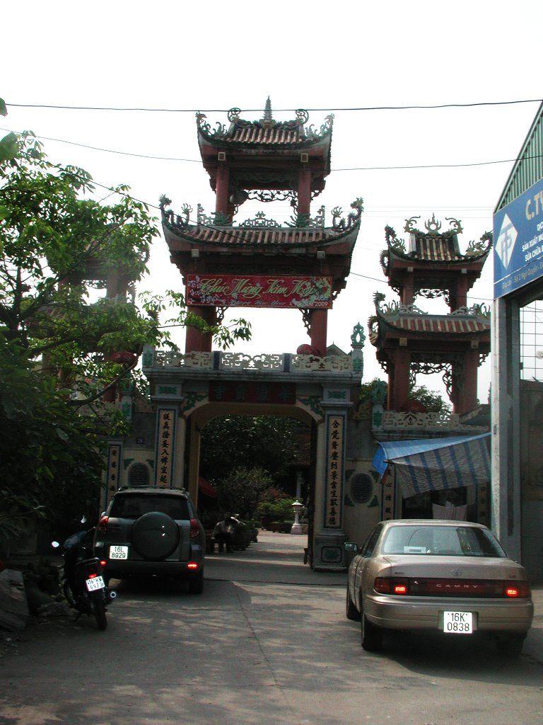Cổng Chùa Vẽ Hải Phòng