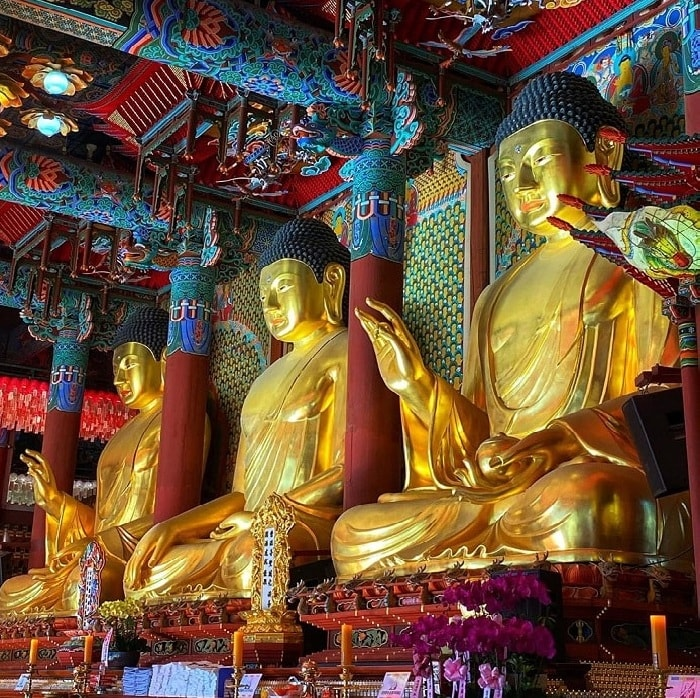 Khám phá vẻ đẹp của chùa Jogyesa Hàn Quốc
