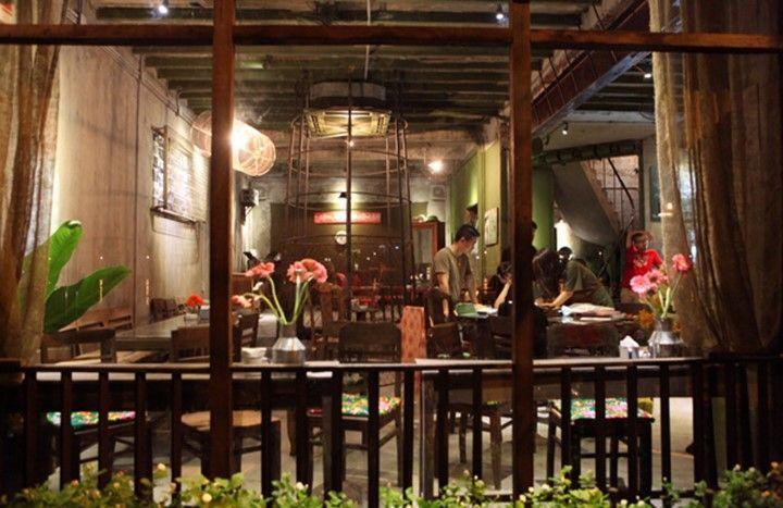 cong cafe da nang