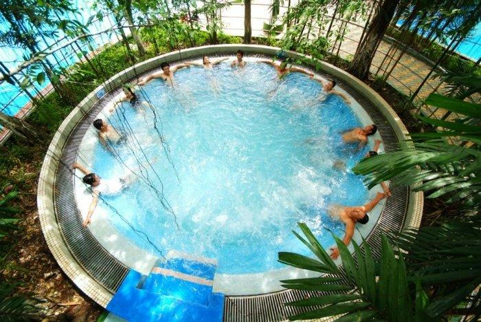 Công viên nước Đầm Sen - Hồ masagge - nơi bạn giúp bạn có được những phút giây thư giãn