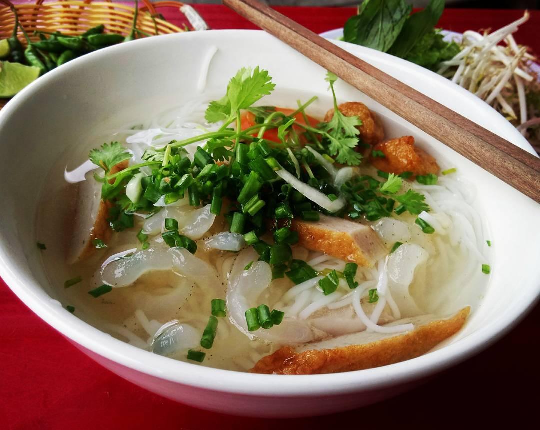 Bún cá sứa - Ảnh: anniengo_vn