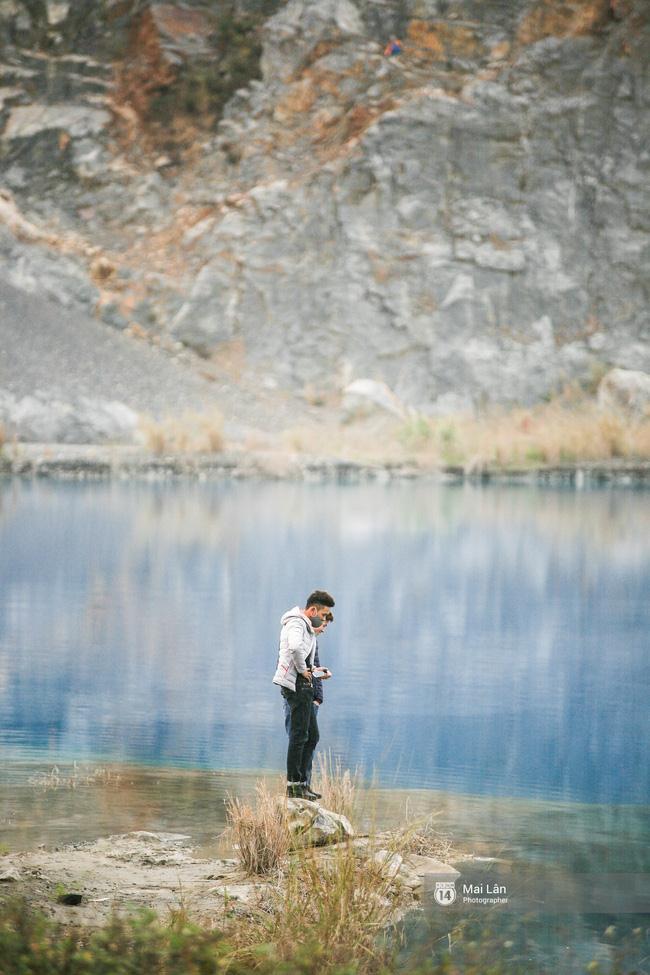 Hồ nước xanh kì diệu này là sự tò mò của giới phượt thủ gần đây - Ảnh: sưu tầm