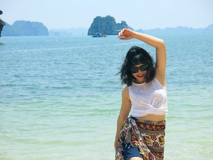 Khám phá vẻ hoang ở trên Đảo Mắt Rồng Quảng Ninh