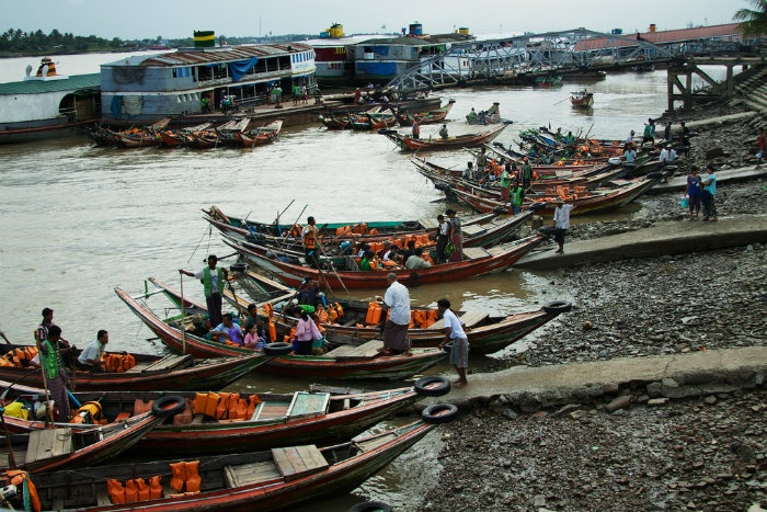 Sông Irrawaddy, Myanmar