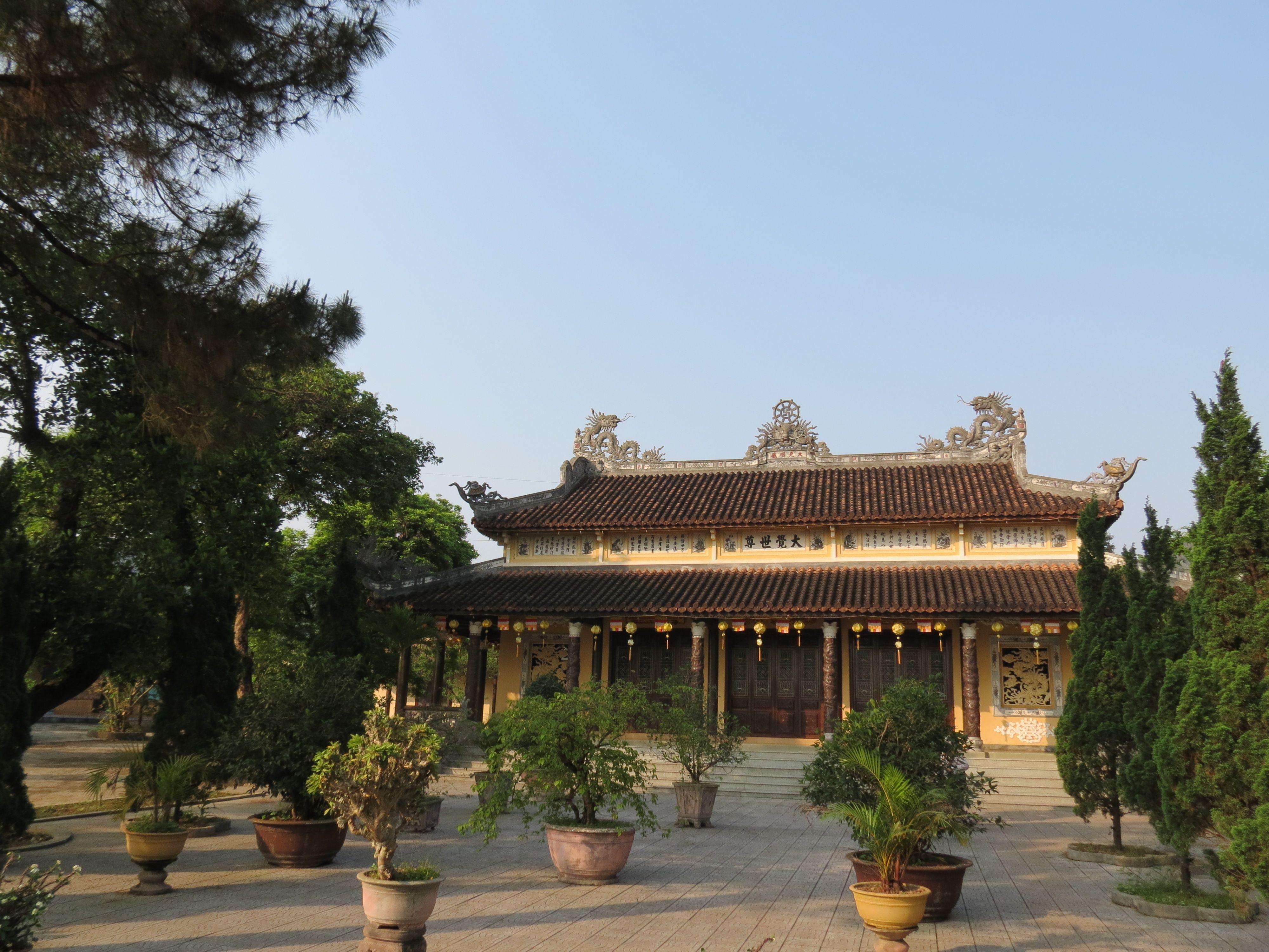 chính điện - chùa Diệu Viên