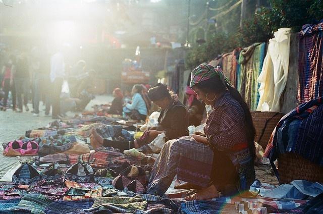 Đến Sa Pa không thể không đến những bản làng đậm màu sắc dân tộc này