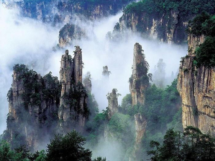 Thiên Môn sơn - Khung cảnh tựa chốn thần tiên xao xuyến lòng