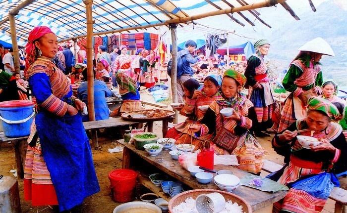 chợ Phiên Bắc Hà