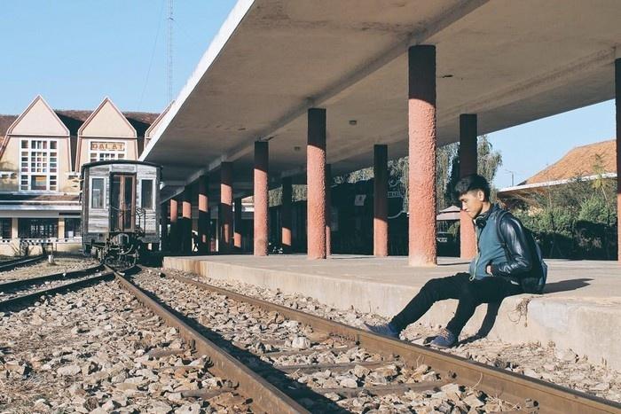 Nhớ ga tàu Đà Lạt đầy nắng