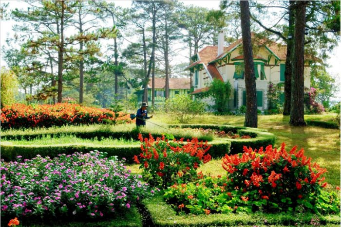 Khu vườn mộng mơ mang hơi thở dịu dàng của thiên nhiên Đà Lạt - Ảnh: sưu tầm