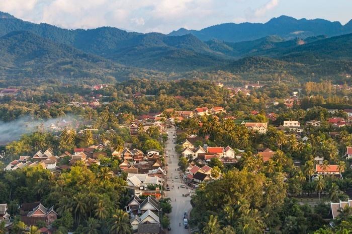 Lào có Luang Prabang - thị trấn xinh đẹp nhất Đông Nam Á