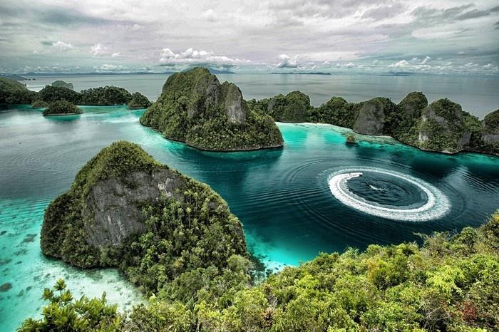 Indonesia - thiên đường của biển đảo