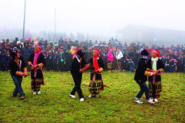 Nét độc đáo trong Tết nhảy của người Dao