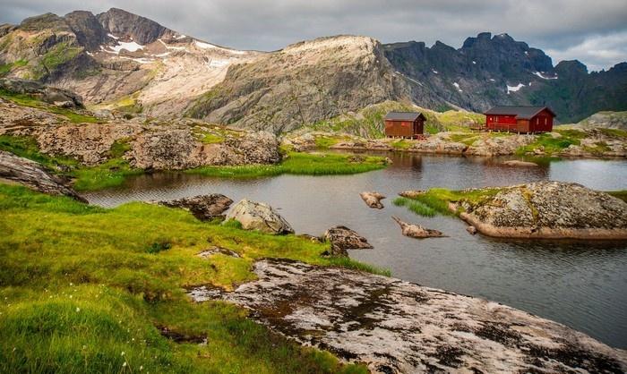 Nét đẹp yên bình của đảo Lofoten xứ Bắc Âu