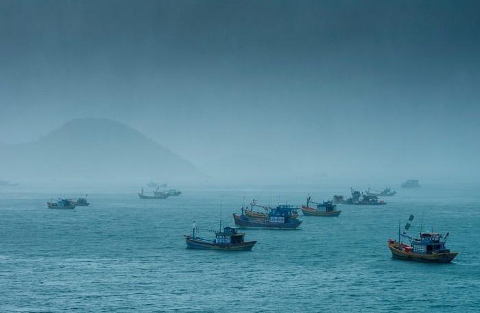 Nam Du mờ ảo trong làn sương