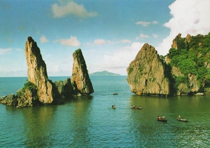 Hòn Phụ Tử giữa biển Kiên Giang