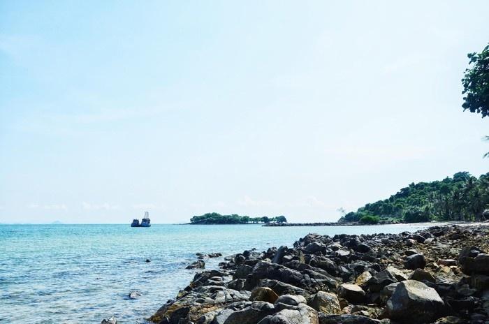 Bãi đá thô của quần đảo Hải Tặc