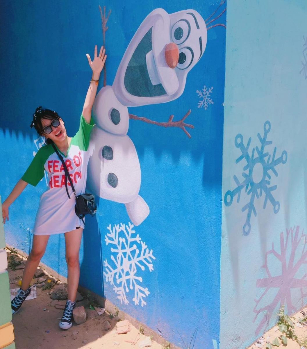 Coslay người tuyết đáng yêu